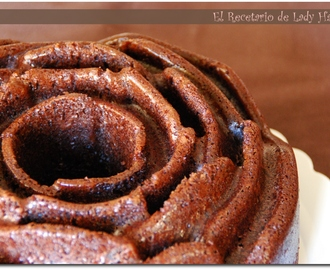 Mi primer Bundt Cake de chocolate