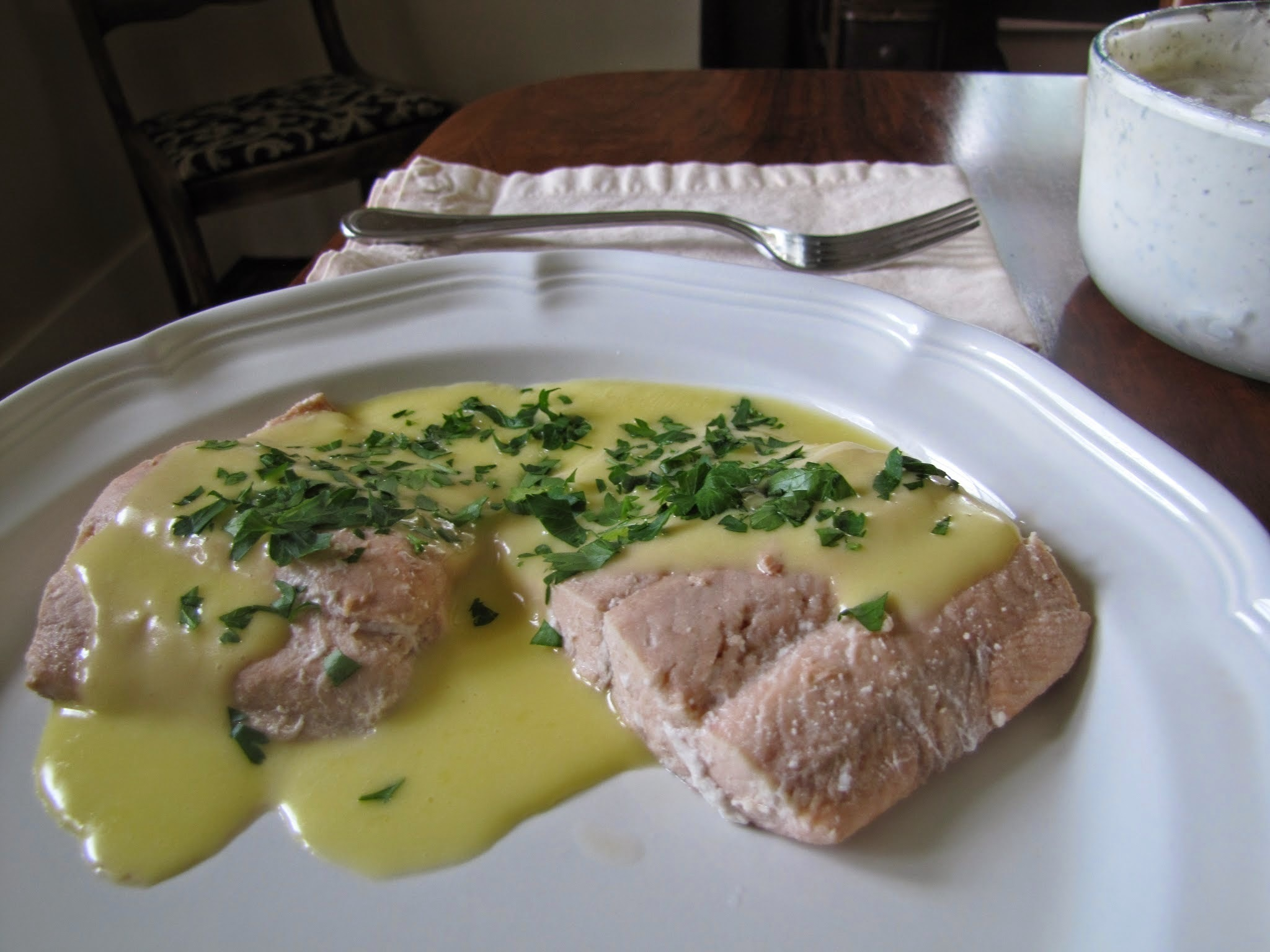 How Simple is THAT: Poached Salmon (and some sauce recipes to top it )
