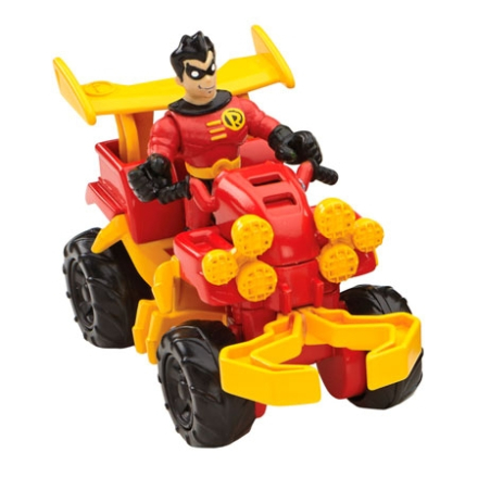Imaginext DC Super Friends - Robin & Fyrhjuling