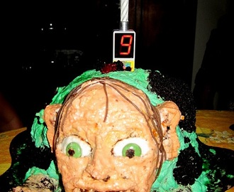 Gollum Birthday Cake