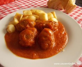 Recetas de acompa amiento carnes frias mytaste - Acompanamiento para albondigas ...