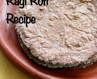 Ragi Roti Recipe - Diabetic Recipes