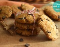 Cookies fitness de calabaza,chocolate y canela