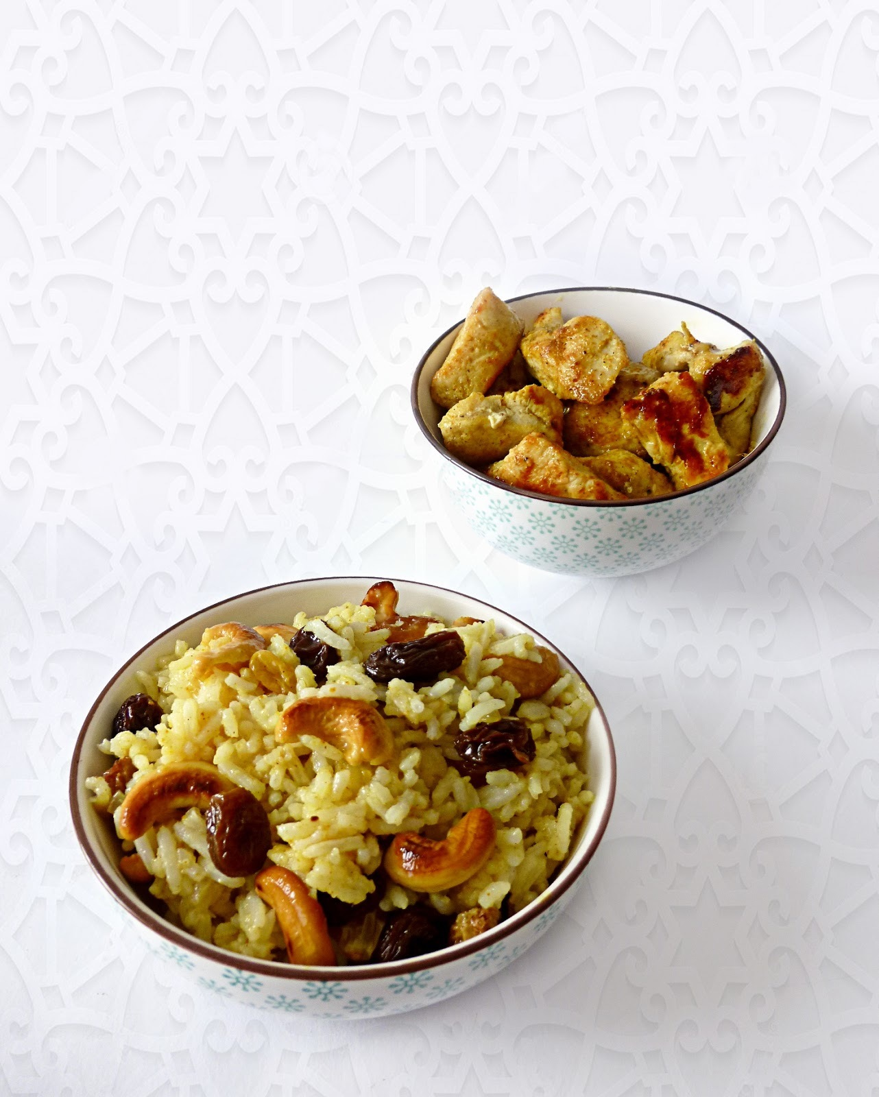 Arroz Basmati con Frutos Secos