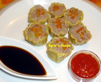 Siomay Dim Sum (Chinese Steamed Pork & Shrimp Dumplings/Siu Mai)