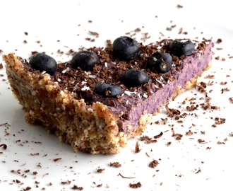 Blueberry Cheesecake – Raw, Palæo og uhm-god