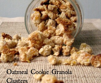 Oatmeal Cookie Granola Clusters