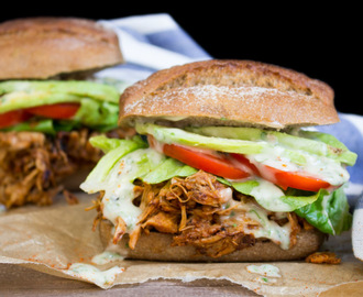 Jackfruit Pulled Pork Sandwiches