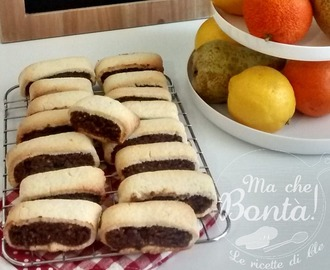 Biscotti all'amarena di Cle (Cherry biscuits)