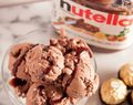 Nutella Ice Cream (No Ice Cream Maker or Machine Needed)