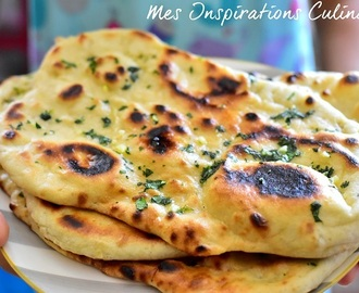 Cheese naan, pain indien au fromage