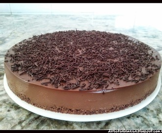 Tarta fría de chocolate