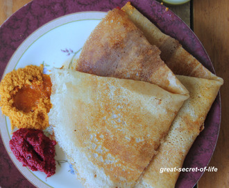 Thinai Dosai - Foxtail millet dosai - Healthy breakfast recipe - Healthy dinner recipe