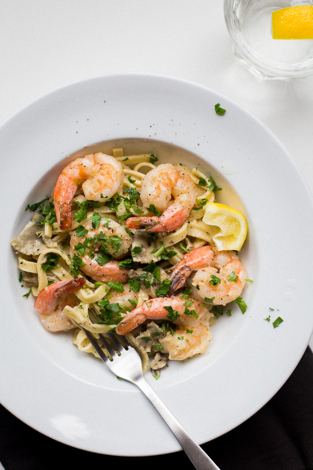 Quick and Easy Gluten-Free Seafood Pasta