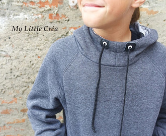 Sweat à capuche enfant, Ottobre Automne 2018 #sewing