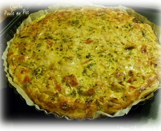 "ღ "" Miam "" Quiche Poule au Pot"