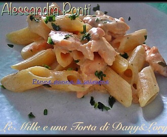 PENNETTE VELOCISSIME PANNA, SALMONE E CURRY