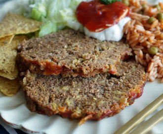 Taco Meatloaf (Slowcooker / Ofen / Grill)