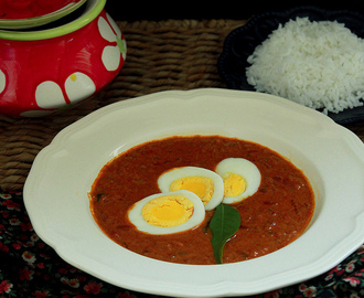 INDIAN EGG CURRY / NADAN MOTTA CURRY
