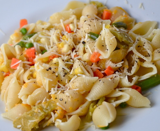 Easy Pasta With Veggies. New Music From Sonia Stein.