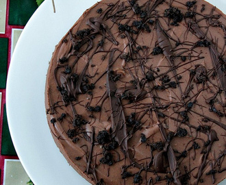 INSTANT EGGLESS CHOCOLATE MOUSSE CAKE & giveaway winners!