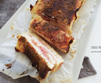 Croque Monsieur Cake