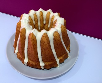 Bundt cake de lemon curd