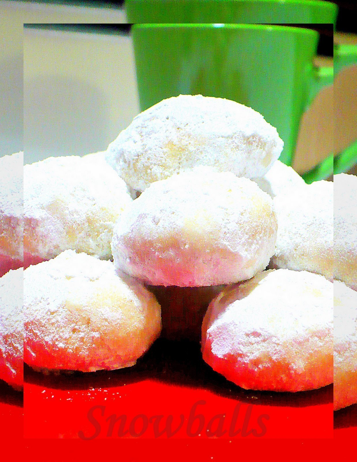 Snow balls - Our family favourite biscuit