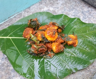 இறால் பிரை / Prawn Roast / Prawn Fry / Stir Fried Masala Coated Prawns (Kerala Style)