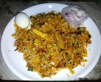 Hyderabadi Mutton Biryani / Mutton Briyani - Muslim Style / Ramzan Briyani
