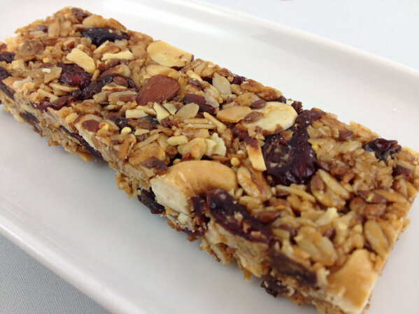 New Granola Bars at Terra Breads + Recipe to Make Your Own