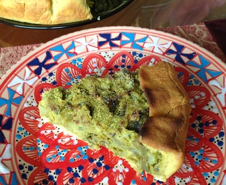 Savoury crazy pie with artichoke and potato / Torta matta salata di carciofi e patate