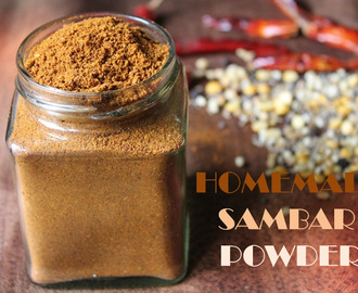 Homemade Sambar Powder / Sambar Powder Recipe / Sambar Podi / How to Make Sambar Powder at Home