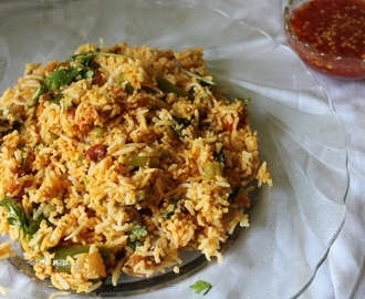 Mughlai Vegetable Biryani Recipe / Mughlai Veg Biryani Recipe