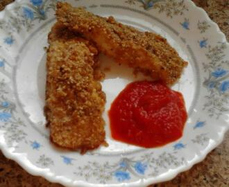 Oven Baked Fish Sticks