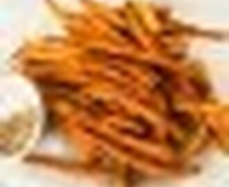 Carrot fries, Carrot chips - The Pretend Chef