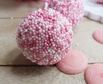 Prinzessinnen Cake Pops [ein Cake Pop Traum in rosa]