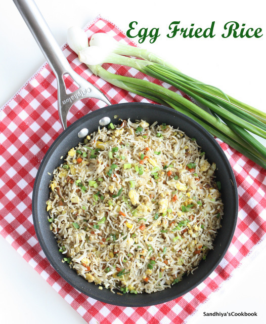 Egg Fried Rice | Restaurant Style Egg Fried Rice | Indo Chinese Recipe
