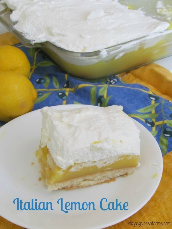 Italian Lemon Cake Recipe and Good Cook Drawer Sweepstakes