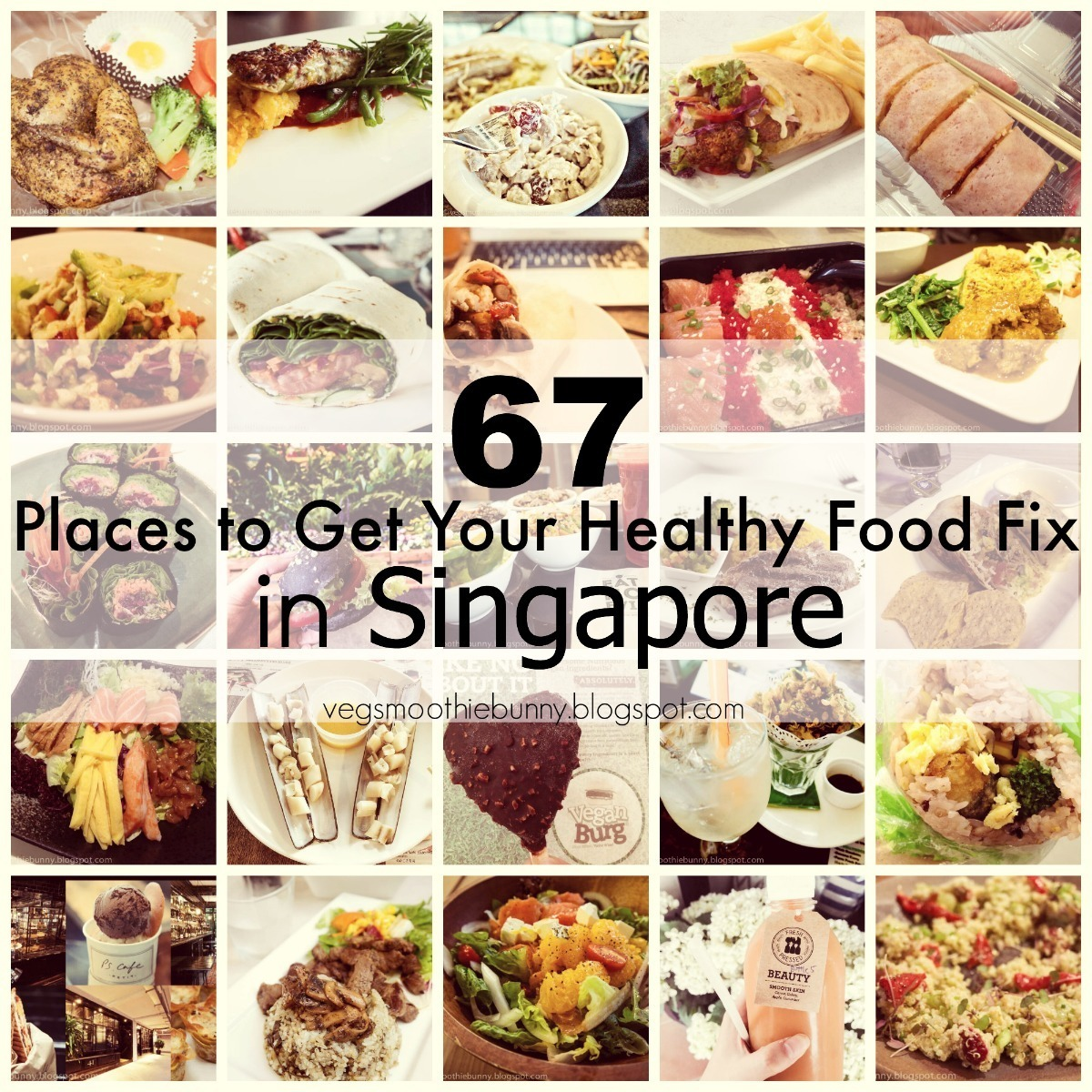 67 Places to Get Your Health Food Fix in Singapore
