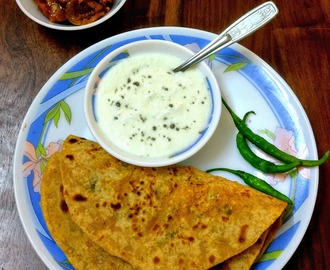 Mooli Paratha Recipe | Stuffed Radish Paratha Recipe