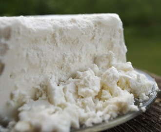 Homemade Feta Style Cheese