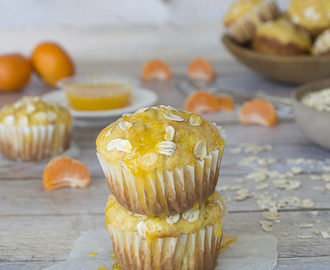 Clementine and Oat Muffins