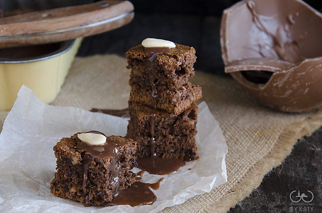 Brownies con cioccolato al latte