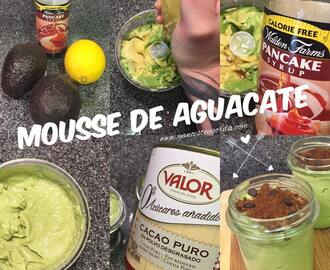 "Mousse de aguacate ""fit"""