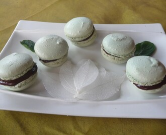 Macarons « after eight »
