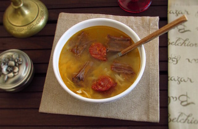 Meat soup | Food From Portugal