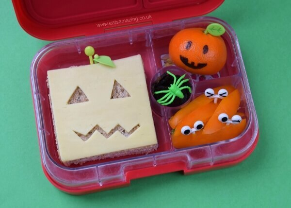 Really Easy Pumpkin Bento Lunch