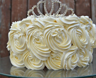 Rose Cake Princesse White