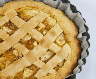 Crostata di mele e amaretti / Apple and amaretti tart